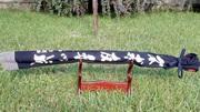 Катана меч самурайский дамаск